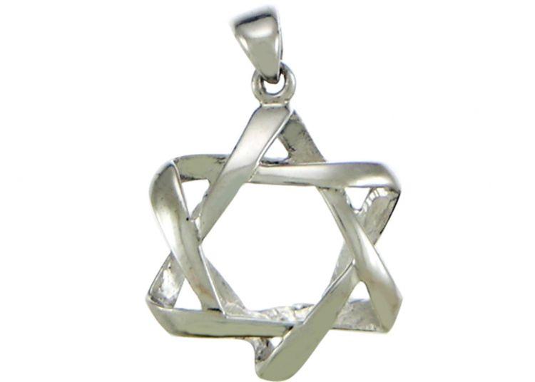 Shop online for silver star of david pendant proshofar star of david pendant necklace 925 sterling silver aloadofball Choice Image