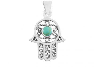 925 silver Mezuzah pendant