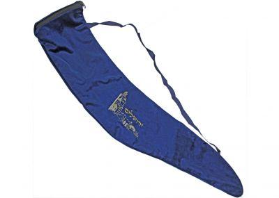 Gorgeous Velvet Shofar Bag  Silver Shofar